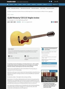 Guild Westerly F2512-E Maple