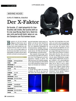 Eurolite TMH X1, X5 & X12
