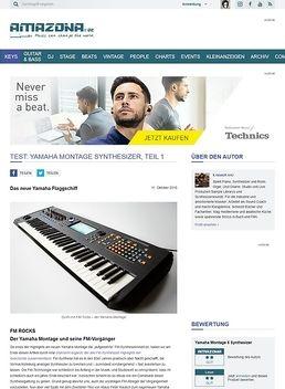 Test: Yamaha Montage Synthesizer, Teil 1