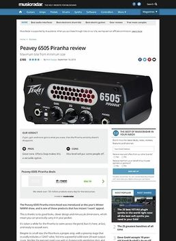 Peavey 6505 Piranha