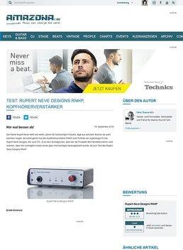 Test: Rupert Neve Designs RNHP, Kopfhörerverstärker