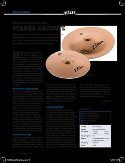 Zildjian S Family Splash & China