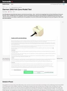 Danmar 206S Felt Zoro Model