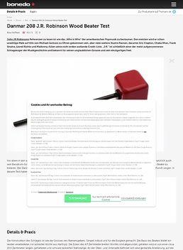 Danmar 208 J.R. Robinson Wood Beater