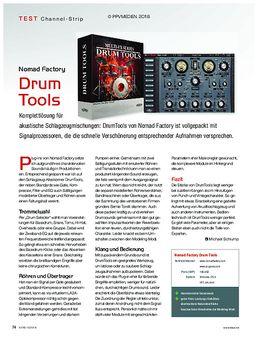 Nomad Factory Drum Tools