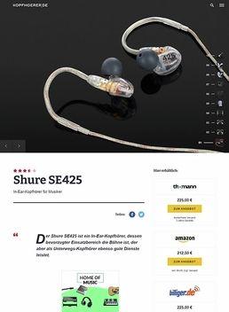 Shure SE425-CL