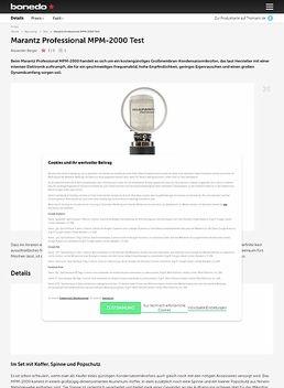 Marantz Professional MPM-2000