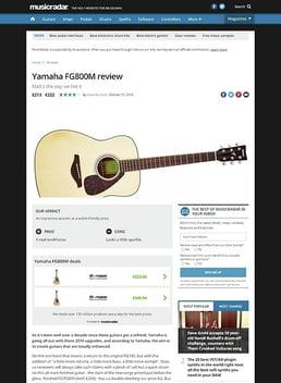 Yamaha FG800M
