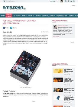 Test: Red Panda Bitmap, Effektgerät für E-Gitarre