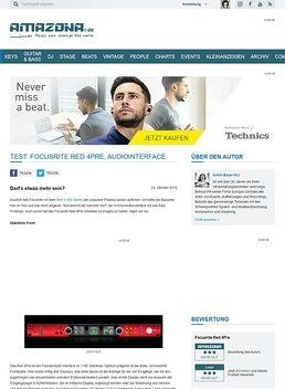 Test: Focusrite Red 4Pre, Audiointerface
