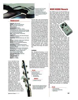 MXR M300 Reverb, Effekt-Pedal