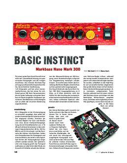 Markbass Nano Mark 300, Bass-Amp