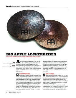 Meinl Byzance Big Apple Dark Ride Cymbals
