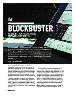 NATIVE INSTRUMENTS REAKTOR6 - SOFTWARE-SYNTHESIZER