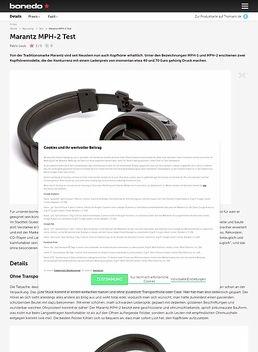 Marantz MPH-2