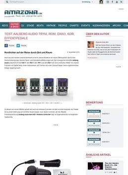 Aalberg Audio TRYM, ROM, EKKO, KOR, Effektpedale