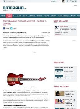 Diamond Guitars Maverick SM TRU, E-Gitarre