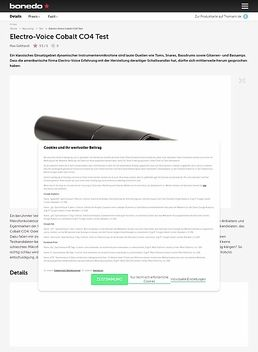 Electro-Voice Cobalt CO4