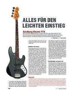 Sandberg Electra TT4, E-Bass