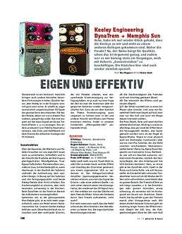 Keeley Engineering DynaTrem & Memphis Sun, FX-Pedale