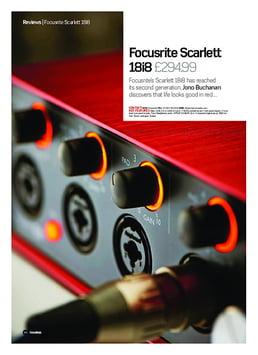 Focusrite Scarlett 18i8 2nd Gen