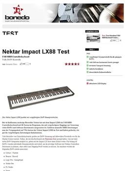 Nektar Impact LX88+