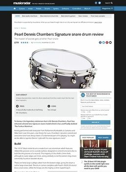 Pearl Dennis Chambers Signature Snare