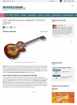 Gibson Les Paul Standard T 2017 BB