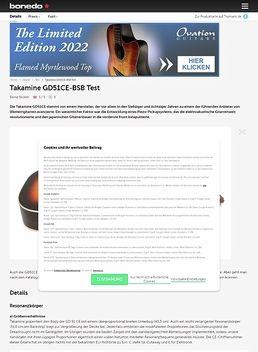 Takamine GD51CE-BSB