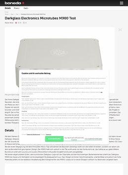 Darkglass Electronics Microtubes M900