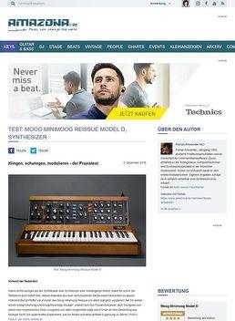 Moog Minimoog Reissue Model D