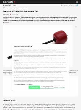 Danmar 205 Hardwood Beater