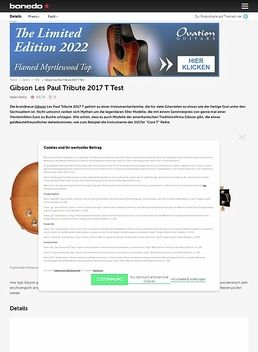 Les Paul Tribute T 2017 SGT
