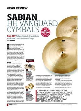 "16"" HH Vanguard Cymbal"