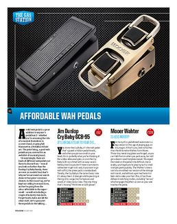 The Wahter Classic Wah Pedal