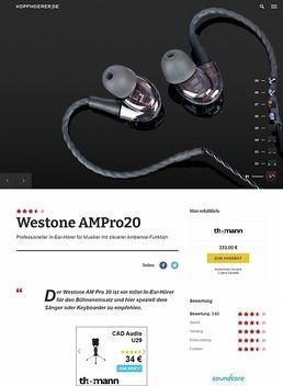 Westone AMPro20