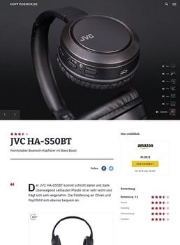 JVC HA-S50BT Black