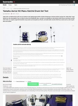 Yamaha Junior Kit Manu Katché Drum Set