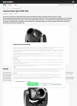 Cameo Auro Spot 100