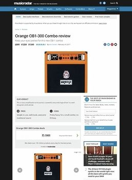 OB1-300 Combo BK