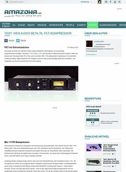 Wes Audio Beta 76