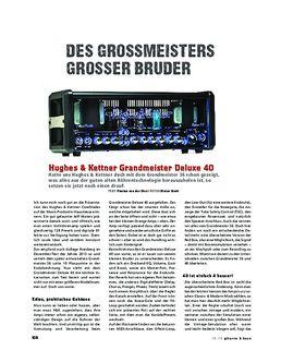 Hughes & Kettner Grandmeister Deluxe 40