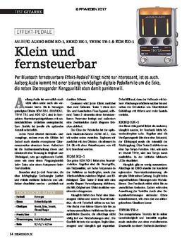 AALBERG AUDIO ROM RO-1, EKKO EK-1, TRYM TR-1 & KOR KO-1