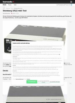 Steinberg UR22 mkII