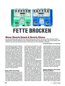 Mooer Reverie Reverb & Reverie Chorus