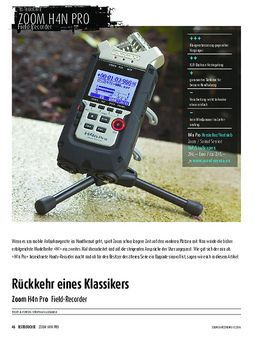 Zoom H4n Pro - Field-Recorder