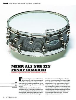 Pearl Dennis Chambers Signature Snaredrum