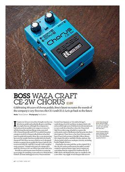 Boss Waza Craft CE-2W Chorus