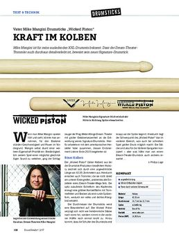 "Vater Mike Mangini Drumsticks ""Wicked Piston"""