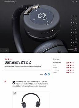 RTE 2 Bluetooth